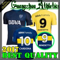 Wholesale Boca Juniors Shorts - 2017 2018 Boca Juniors Jersey Home Away 3RD 17 18 Boca Juniors GAGO OSVALDO CARLITOS PEREZ P shirt