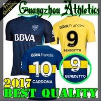 Wholesale Boca Juniors - 2017 2018 Boca Juniors Jersey Home Away 3RD 17 18 Boca Juniors GAGO OSVALDO CARLITOS PEREZ P shirt