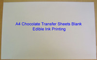 Wholesale Edible Inks - Chocolate Transfer Sheets A4 Blank Apply Food Prints Onto Chocolate Edible Ink Printing Wholesale Mold Discount