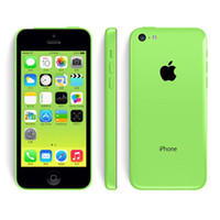 Wholesale Cheap Unlocked Cell Phones - Cheap Original Refurbished Unlocked Apple iPhone 5C Cell phones 16GB 32GB dual core WCDMA+WiFi+GPS 8MP Camera Smartphone US Version 002849