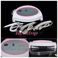 Wholesale Massage Hand Machine - 3in1 Ultrasonic Ultrasound skin Spot remover Mole Tattoo Removal Body Therapy Face spa device Massage instrument Beauty Machine Lowest price