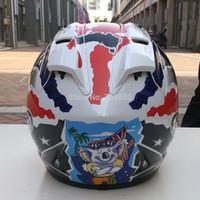 Wholesale Rx7 Racing - Wholesale-Rx7-RR5 Top Motorcycle Racing Helmet Top ABS Full Face Moto Helmet Motorcycle Capacete