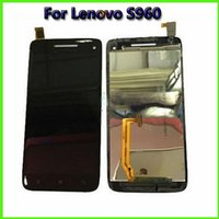 Wholesale Mtk6589t Phones - Touch Panels For Lenovo S960 LCD Display+Touch Screen Glass Panel For VIBE X MTK6589T Android Smart Phone LCD Repair