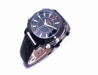 Wholesale Digital Clock Spy Cam - Digital Clock watch camera Leather Wrist Waterproof HD 1080P Spy Hidden camera 16GB Mini Video Camcorder DVR PC Cam USB High Quality