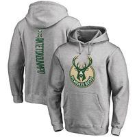 Wholesale Red Buck - 17-18 USA basketball bucks hoodies 34 Giannis Antetokounmpo any custom name and number SWEATTHIRTS