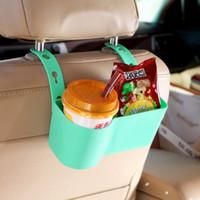 регулируемая подставка оптовых-Портативный автомобильный стеллаж для напитков круглый угол дуги дизайн закуски стоит регулируемые держатели для хранения пять цветов высокое качество 5 22bk B