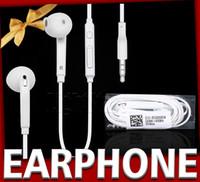 Wholesale Handsfree Headphone Volume Control - s6 s7 edge In-Ear Handsfree Earphones Headset with MIC Volume Control headphone Earphone for Samsung Galaxy S4 S5 S7 S6 Edge hbs headphones