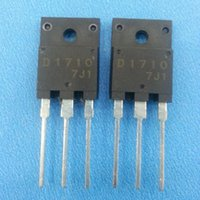 Wholesale Tv Repair Wholesaler - Wholesale-10PCS free shipping D1710 2SD1710 TO-3PF transistor color TV line pipe repair 100% new original fast delivery