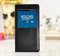 ingrosso flip cover iphone vista-All'ingrosso-2015 miglior prezzo per il Samsung Galaxy S S5 Stile Smart View in pelle di caso della copertura di vibrazione + IC Chip cerchio impermeabile + confezione di vendita