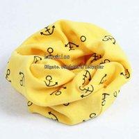 Wholesale Wholesale Polka Dot Scarf - Child Scarf Korean Cartoon Scarves Kid Crochet Scarf Children Scarves Autumn Scarf Winter Scarf Baby Scarves Boys Girls Scarf Kids Scarves