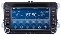 "Wholesale Passat Cc Seat - HD 2 din 7"" Car Radio Car DVD Player for VW Volkswagen Magotan Caddy Sagitar Golf Jetta Polo Sedan Touran Passat EOS CC Seat Skoda"