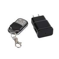 Wholesale adapter camera dvr motion for sale - Full HD P AC Adapter Charger Camera EU US Plug Pinhole DVR Video Recorder with Motion Detection Support Remote Control