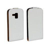 Wholesale Cover Case Galaxy Trend Duo - For Samsung Galaxy Trend Duos S7562 Elegant Genuine Flip Leather Case Cover