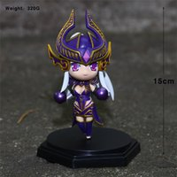 170613 QIUCHANY Funko Pop 14cm Лига Легенд 5-го поколения Dark Sovereign Syndra PVC Action Figure