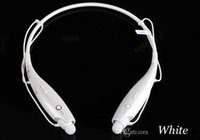 Wholesale Tone Control For Headphones - LG Tone HBS 730 Wireless Bluetooth Earphone Headset Headphone HBS-730 Universal Mic Volume Control For iPhone SAMSUNG HTC