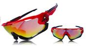 Wholesale Polyurethane Quality - 2016 New Fashion 3 Lens Brand Polarized Jawbreakernessinglys Sunglasses For Men Top Quality Sun Glasses Gafas In Stock