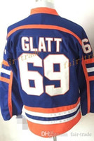Wholesale Full Movies - Doug The Thug #69 Glatt Halifax Highlanders GOON Movie 2017 Cheap Hockey Jerseys Ice Winter Jersey All Stitched Free Shipping Size 48-56