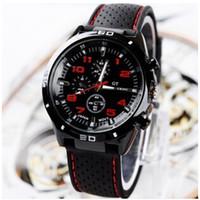 Wholesale watch gt - GT Watch 2015 F1 Men Sports Watch Luxury Brand Silicone Strap Quartz Men Military Wristwatch Men's Watches