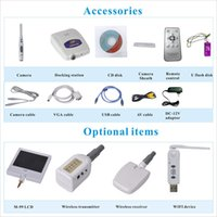 Wholesale Dental Camera Vga - high quality USB Video VGA output dental home teeth whitening kits with led light intraoral best cam dental wired camera unit