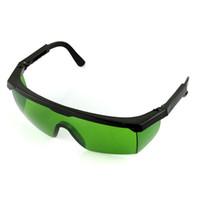 yeni güvenlik gözlükleri toptan satış-YENİ - 532 Anti Lazer Güvenlik Gözlükleri Göz Koruması Yeşil Lens