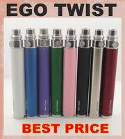 Wholesale Electronic Cigarette Colorful Battery Twist - EGo-C Twist Battery Ego C Twist Variable Voltage Colorful Battery 650mah 900mah 1100mah For Ego Electronic Cigarette DC011