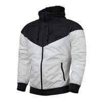 Wholesale Luxury White Coats - Autumn Men Women Designer Jacket Coat Sports Luxury Brand Sweatshirt Hoodie With Long Sleeve Zipper Windbreaker Mens Clothing Hoodies Tops