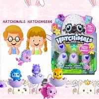Wholesale Wholesale Nesting - 3 sets Hatchimals Colleggtibles Season 1 Nest 4-Pack + Bonus Bundle Baby Mini Egg Carton Collection Toys for Kids Novelty Toy toy015