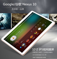 Wholesale 3g Built Internet Tablets - 10-Inch Eight-Core 4G Dual Sim Phone Call GPS Navigation IPS Screen 2560 * 1600 Internet calls Bluetooth wireless WIFI Tablet PC Edition