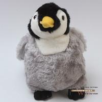 "Wholesale Happy Feet Plush - 10pcs lot Free Shipping Happy Feet Penguin Plush Toy Plush Doll Soft Stuffed Animal Doll 8"" 20CM ANPT221"