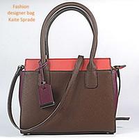 Wholesale decoration purses - New Euramerican Fashion Kaite sprade luxury brand designer bag women handbags fashion rivert decoration purses ladies handbags replicate