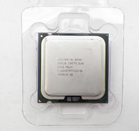 Wholesale Quad Core Processor 775 - Free Shipping Original INTEL Core 2 Quad Q8400 Processor 2.66GHz 4M Cache   FSB 1333   LGA775   45nm   95W 64-bit Quad Core computer CPU