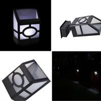 preço do sensor de luz venda por atacado-2 LED Movido A Energia Solar Ao Ar Livre Luzes Led Sensor Jardim Escada Lâmpada de Parede Lâmpada de Iluminação À Prova D 'Água preço Barato