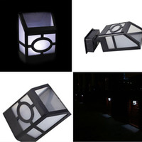 Wholesale Cheap Outdoor Solar Led Lights - 2 LED Solar Powered Outdoor Lights Led Sensor Garden Stair Wall Light Lamp Waterproof Lighting Cheap price