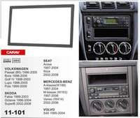 Wholesale Radios Mercedes Benz - CARAV 11-101 Top Quality Radio Fascia for SEAT SKODA  VOLKSWAGEN  MERCEDES-BENZ VOLVOStereo Fascia Dash CD Trim Installation Kit