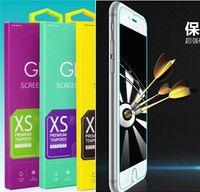 iphone 4.7 5.5 protetor de tela venda por atacado-9H à prova de explosão de vidro temperado flim protetor de tela Guarda Escudo 0.3mm Com pacote de varejo para o iphone 6 4.7 5.5 polegada iphone 6 plus novo