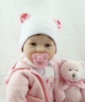 Wholesale dollar toys for sale - Group buy 55cm Hot Sale Cheap Dollar Victoria Adora Lifelike Newborn Baby Bonecas Bebe Kid Toy Girl Soft Silicone Reborn Baby Dolls Accessories