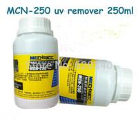 Wholesale Hk Professional - 2PCS HK MECHANIC UV glue LOCA Professional Dispergator Cleanser UV glue adhesive LOCA removing FOR iphone 5 4S 4 Sumsung 250ML order<$18no t