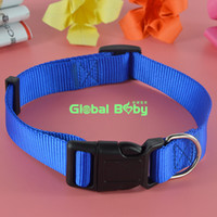 Wholesale Puppy Stockings - (100Pieces lot) Hot Sale New Arrival Brand 3 Colors 4 Sizes Stocked Nylon Dog Pet Collar Necklace Cat Puppy Products