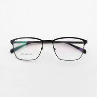 Wholesale metal frames reading glasses women - 2017 New Fashion Men&women Round glasses Retro Metal Frame Eyeglasses Optical brand designer clear Plain Mirror Reading&outdoors Glasses leg