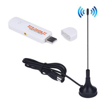 usb dvb t tuner оптовых-Factory price USB 2.0 TV Stick DVB-T2 DVB-T DVB-C TV Tuner DVB T DVB T2 Analog TV AV FM 51119