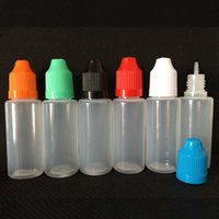 Wholesale Ego Liquid Refills - E Cigarettes Empty E Liquid Bottle Child Proof Dropper Bottles for eGo CE4 Clearomizer Series Battery eGo refill 10ml 15ml 30ml 50ml bottle