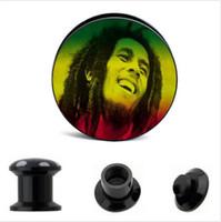 acrylic screw ear plug flesh tunnel stretcher Guage plug body piercing ear jewelry whoelsales 64pcs mix 8 size