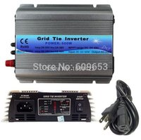 Wholesale Pure Sine Wave Micro Inverter - 600W MPPT micro Grid Tie Inverter 30V 36V panel 72 Cells MPPT function Pure Sine wave 110V 220V output on grid tie inverter