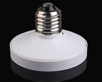 adaptador de bulbo de tornillo al por mayor-Convertidores de titular de la lámpara de alta calidad E27 a GX53 Base de luz LED Adaptador de bulbo de la lámpara Convertidor Tornillo Socket Accesorios de iluminación