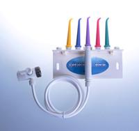 Wholesale Teeth Cleaning Unit - Wholesale-2015 New Hot sale dental spa oral irrigator unit clean teeth water flosser jet portalbe spa toilet flusher
