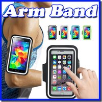 Para iphone 4/5 Waterproof Sports Running Braille Case Workout Brambging Holder Pounch Para iphone Cell Mobile Phone Arm Band