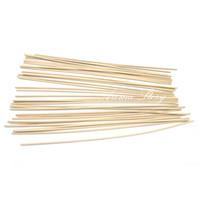palos de caña de ratán al por mayor-Al por mayor-500pcs / lot 22cm x 3mm Repuesto Ratán Reed Difusor Repuesto Rattan Sticks / Aromatic Sticks para la fragancia del envío gratis