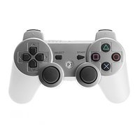 Wireless Bluetooth Game Controller Gaming PC Seis eixos Joystick Gamepad Para PlayStation 3 PS3 Vibração dupla Com caixa de embalagem colorida