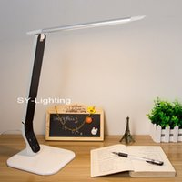 Wholesale contemporary tables - Detachable Reading Lamp aluminum LED Table Lamp Touch Control Dimmer Desk Lamp 10W Eye Protection bulb