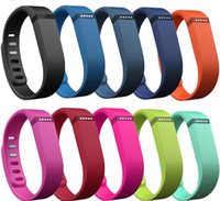 Wholesale fitness bands straps for sale - Group buy Fitbit Flex Band Black With Clasp Replacement TPU Wrist Strap Wireless Activity Bracelet Wristband With Metal Clasp No Tracker